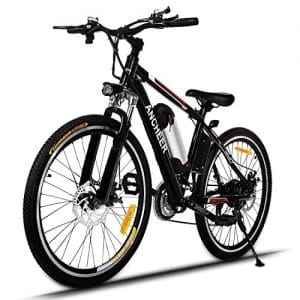 ANCHEER 500W/250W Adult Electric Mountain Bike, best-electric-mountain-bikes-under-2000