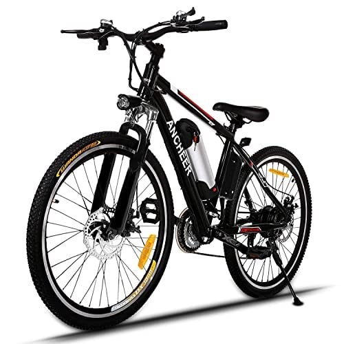 ANCHEER 500W/250W Adult Electric Mountain Bike, best-electric-mountain-bikes-under-2000-3