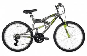 Northwood's Aluminum Full Suspension Bike