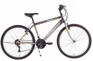 F.Lli Schiano Integral Shimano 18V Bike, Anthracite/Grey, 24