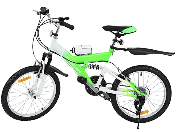 MuGuang Children Mountain Bike 20 Inch 6 Speed Come with 500cc Kettle for Children from 7 to 12 Ages