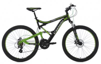 KS Cycling Castello HTX full suspension mountain bike