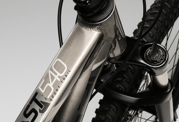 ROCKRIDER Sport Trail shocks