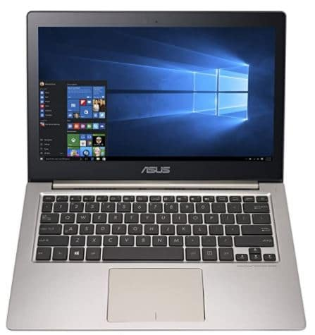 ASUS ZenBook UX303UB 13.3-Inch QHD+ Touchscreen Laptop, Top 10 Best Laptops For Graphic Design And Video Editing and Designers