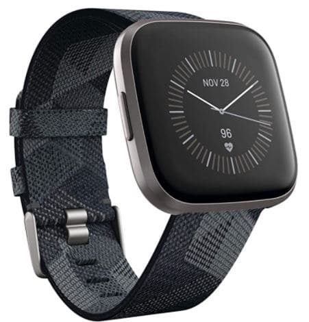 Fitbit Versa 2 , Health and Fitness Smartwatch with Heart Rate, Top 10 Best Smartwatches for Texting