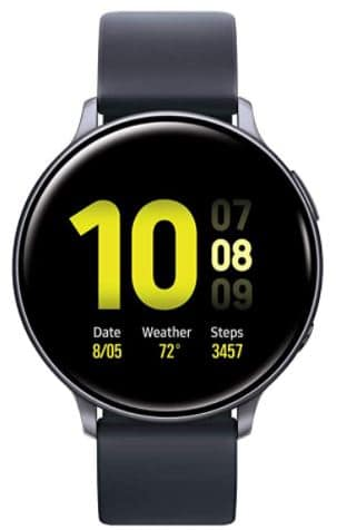 Samsung Galaxy Watch Active 2 (44mm, GPS, Bluetooth, (US Version), Top 10 Best Smartwatches for Texting