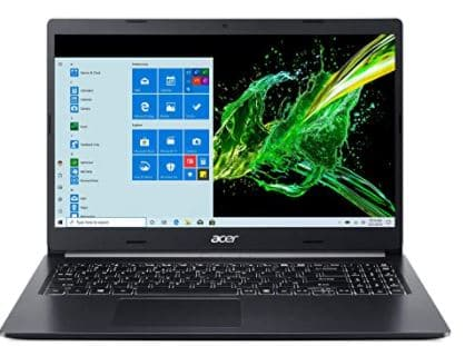 Acer Aspire 5 A515-55G-57H8, 15.6 inches Full HD IPS Display, 10th Gen Intel Core i5-1035G1, NVIDIA GeForce MX350, 8GB DDR4, 512GB NVMe SSD, Intel Wireless WiFi 6 AX201, Backlit KB, Windows 10 Home