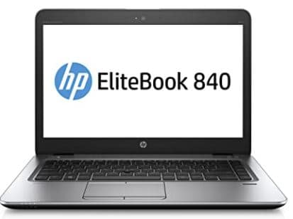 "HP EliteBook 840 G3 Laptop 14"" FHD Display, Intel Core i5-6300U 2.4Ghz, 256GB SSD, 16GB DDR4 RAM, Webcam, WiFi, Windows 10 Pro (Renewed)"