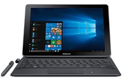 Samsung Galaxy Book 10.6 inch Windows 2-in-1 PC Wi-Fi Silver, 4GB RAM-128GB storage, SM-W620NZKAXAR