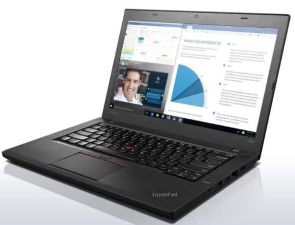 Lenovo ThinkPad T460 14in Notebook Intel Core I5-6200U up to 2.8G,Webcam,1920x1080,8G RAM,256G SSD,USB 3.0,HDMI,Win 10 Pro 64 Bit,Multi-Language Support English-Spanish (Renewed)