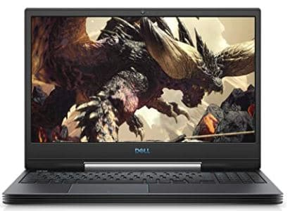 Dell G5 15 Gaming Laptop (Windows 10 Home, 9th Gen Intel Core i7-9750H, NVIDIA GTX 1650, 15.6 inches FHD LCD Screen, 256GB SSD and 1TB SATA, 16 GB RAM) G5590-7679BLK-PUSJPG