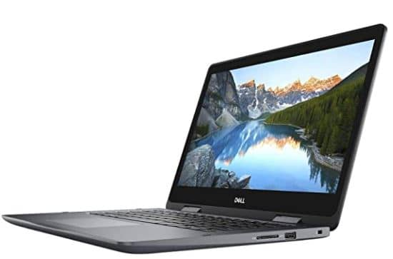 Dell Inspiron 5481 2-in-1 Laptop, 14.0 inches HD (1366 x 768) Touchscreen, 8th Gen Intel Core i3-8145U, 4GB DDR4, 128GB Solid State Drive, Windows 10 Home