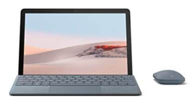 New Microsoft Surface Go 2 - 10.5 inches Touch-Screen - Intel Pentium - 8GB Memory - 128GB SSD - Wifi - Platinum (Latest Model)