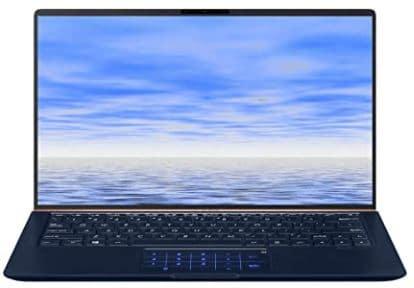 ASUS ZenBook UX333FA-DH51 Laptop (Windows 10, Intel Core i5-8265u 1.6GHz, 13.3inch LCD Screen, Storage 256 GB, RAM 8 GB) Dark Royal Blue (Renewed)