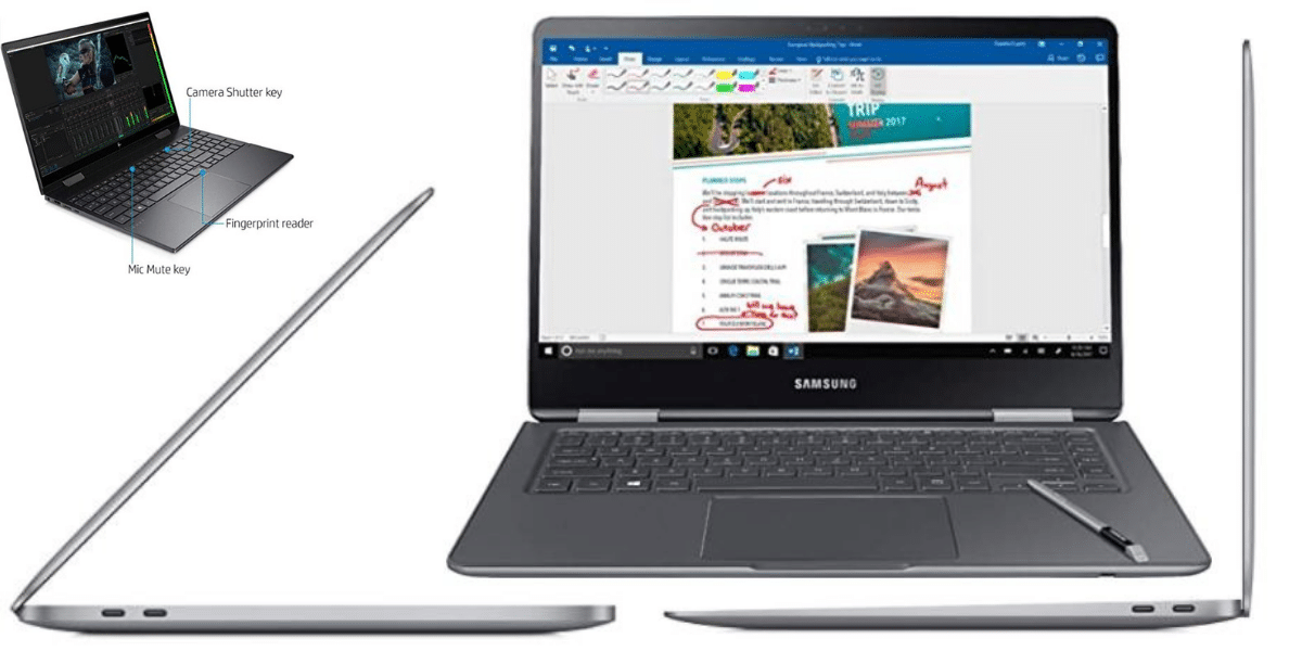 featured image Top 10 Best Slim And Lightweight Laptops in 2020 & 2021