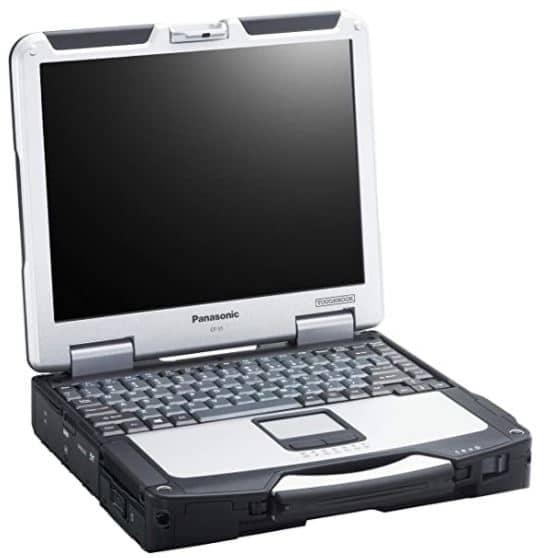 Panasonic Toughbook CF-31, Intel Core i5 3rd Gen, 13.1 inches XGA Touchscreen, 8GB RAM, 240GB SSD, Windows 10 Pro, Wifi, Bluetooth (Renewed)